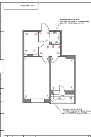 Дизайн проект интерьера квартиры, дома - фото