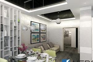 Дизайн и интерьер потолков - фото