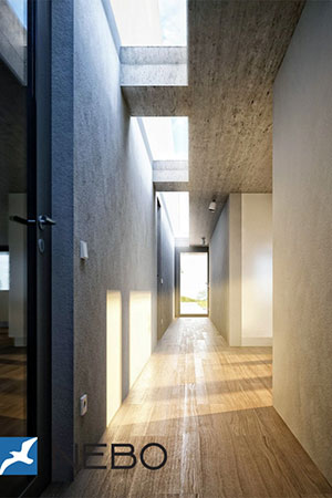 Дизайн интерьера коридора - фото