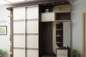 Шкафы в гардеробной -2