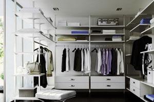 Шкафы в гардеробной -3