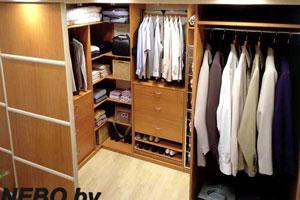 Шкафы в гардеробной - 3
