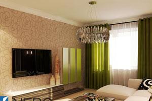 дизайн интерьера двухкомнатной квартиры фото