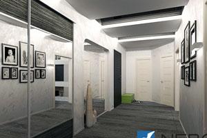 Дизайн интерьера частного дома - фото