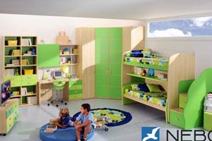 Дизайн интерьера детской - фото