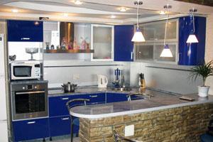 Совмещенные кухни - 2