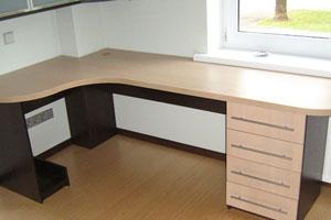 Угловой компьютерный стол - 17