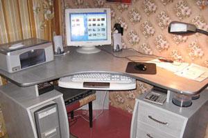 Угловой компьютерный стол - 19