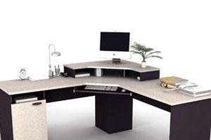 Угловой компьютерный стол - 15