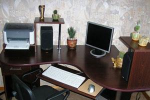 Угловой компьютерный стол - 11