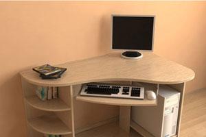 Угловой компьютерный стол - 9