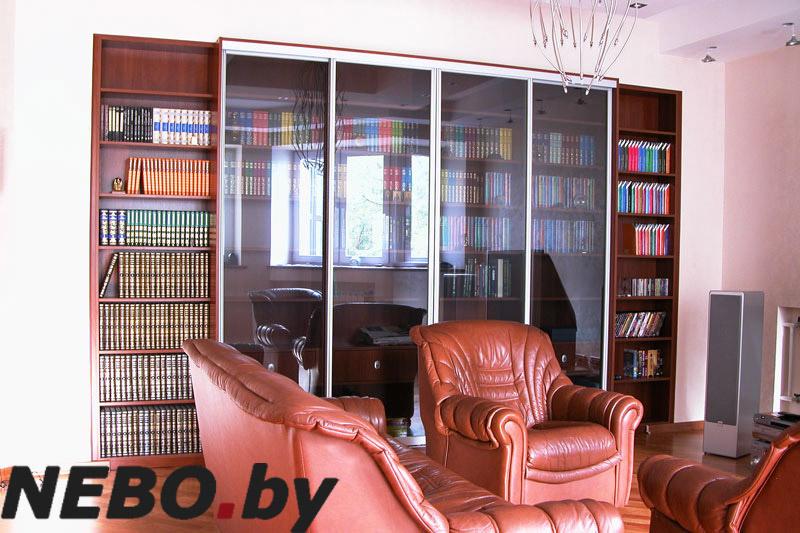 Шкафы библиотеки.