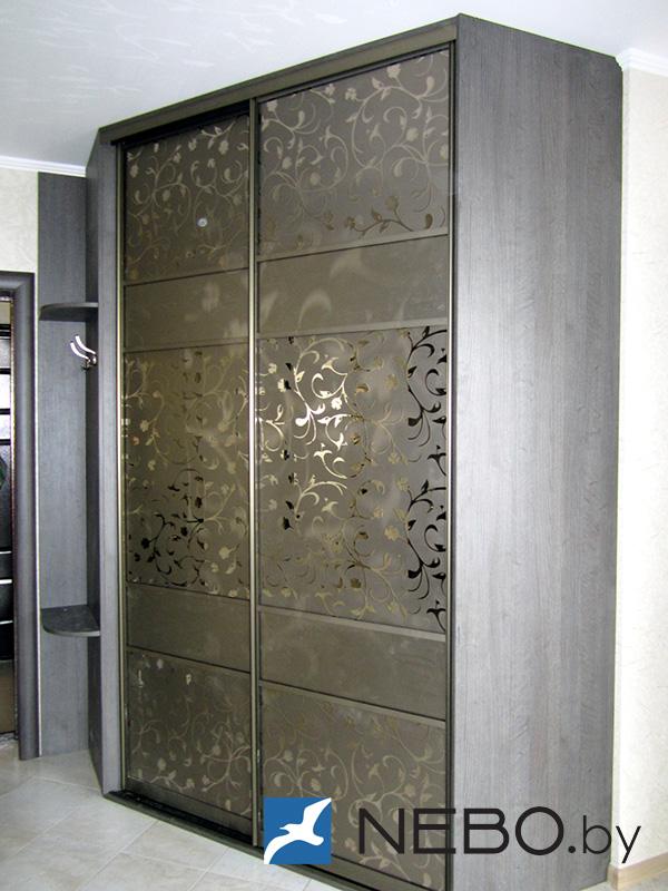 Фасады шкафов-купе, различные варианты - фото.