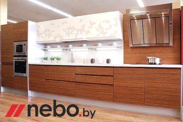 кухни зебрано фото