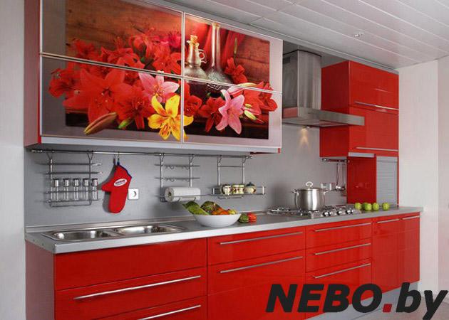Интерьер для кухни с фотопечатью
