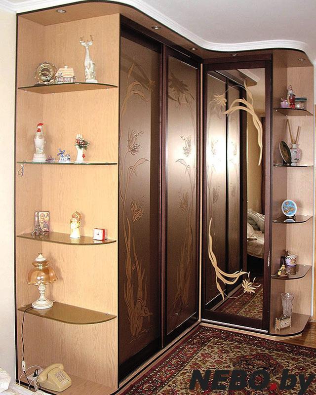 Дизайны угловых шкафов фото