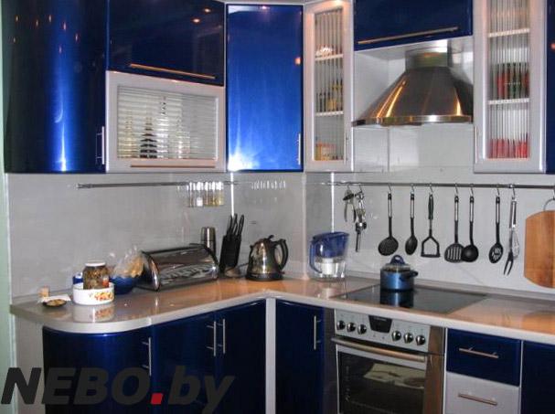 Кухни синего цвета фото дизайн
