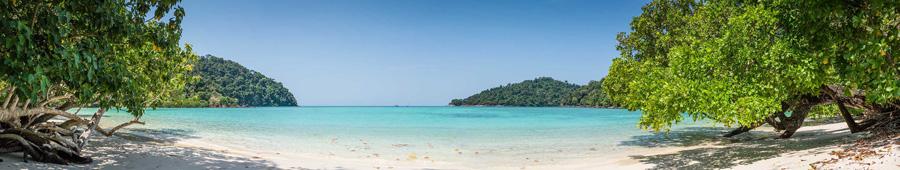 Скинали - Тропический пляж в Таиланде