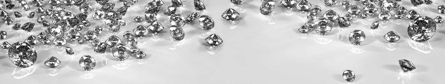 Скинали - Россыпь бриллиантов на сером фоне