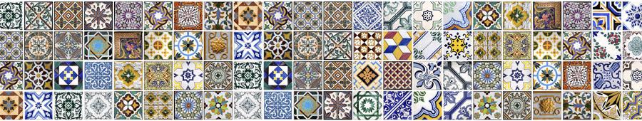 Скинали - Различные азулежу, португальская плитка