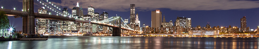 Скинали - Нью-Йорк, ночная панорама
