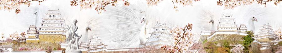 Фото сакуры и фудзиямы