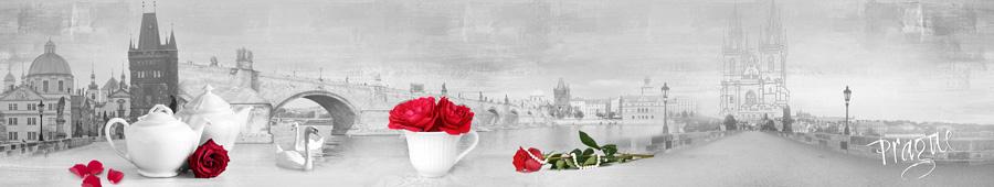 Скинали - Розы на фоне Праги