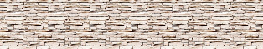 Скинали - Выложенная камнем бежевая стена