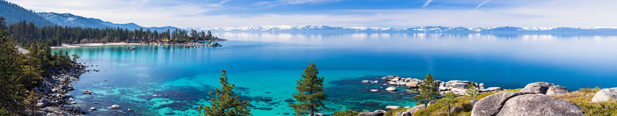Скинали - Панорама озера Тахо, США