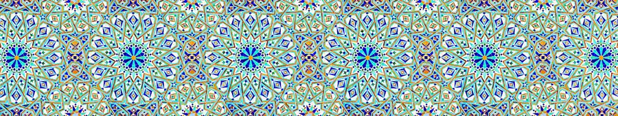 Скинали - Марокканский узор плиткой