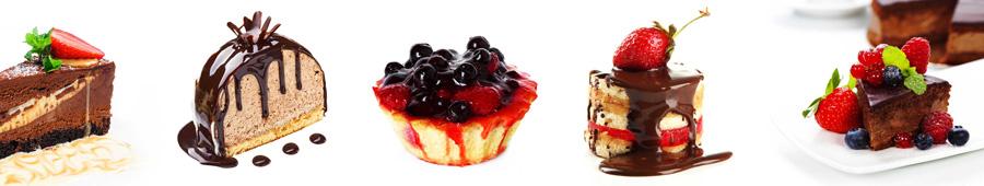 Скинали - Вкусные десерты с ягодами
