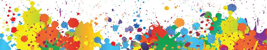 Скинали - Пятна разноцветных красок
