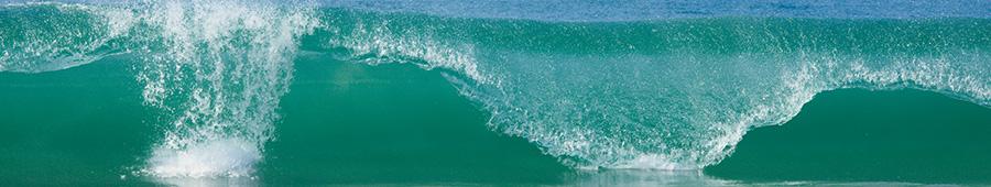 Скинали - Красивая морская волна