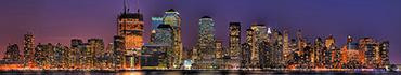 Скинали - Ночной сверкающий огнями Нью-Йорк