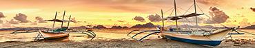 Скинали - Яхты причалены на берегу