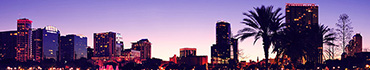 Скинали - Вечерняя панорама на высотки Орландо, США