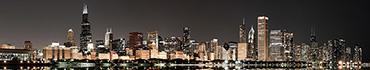 Скинали - Ночной Чикаго, огни города