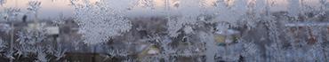 Скинали - Красивые снежинка на стекле