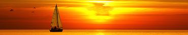 Скинали - Яхта, птицы и нежно желтый закат