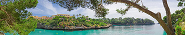 Скинали - Вилла в небольшом заливе
