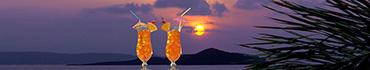 Скинали - Коктейли на фоне заката