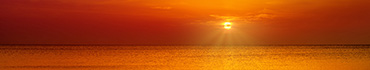 Скинали - Красивый оранжевый закат
