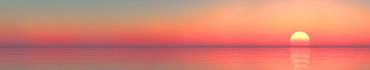 Скинали - Тихое озеро и красивый рассвет