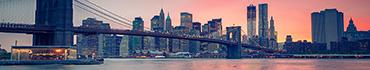 Скинали - Красивый закат и Бруклинский мост