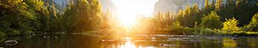 Скинали - Рассвет летом над озерцом в горах