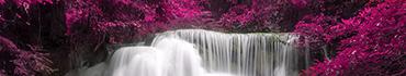 Скинали - Белоснежный водопад в пурпурных цветах