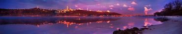 Скинали - Днепр с Киево-Печерской Лаврой на заднем плане