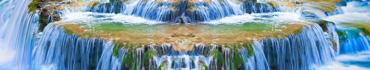 Скинали - Водный каскад на реке