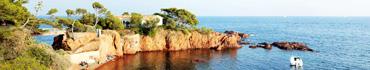 Скинали - Закат в заливе с домом на берегу