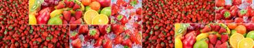 Скинали - Фон свежих фруктов и ягод